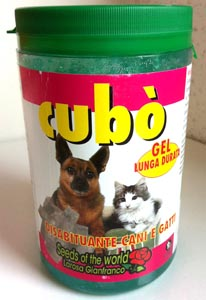 CUBO' DISABITUANTE CANI E GATTI GEL 800 ml