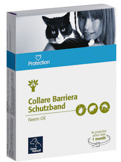 PROTECTION REPELLENTE NATURALE - COLLARE PER GATTI