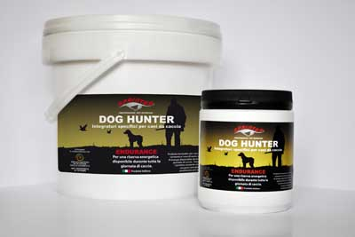 INTEGRATORE DOG HUNTER ENDURANCE - barattolo 3 KG