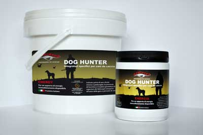 INTEGRATORE DOG HUNTER ENERGIA - barattolo 500 gr